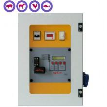 Aturdidor eléctrico 400V para cerdos, ovejas, conejos, aves y peces con registro de datos GOZLIN TSQ003